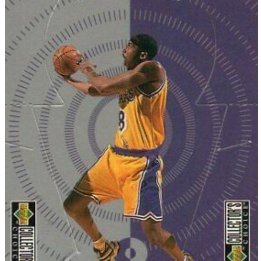KOBE BRYANT 1998 COLLECTORS DIE CUT BASKETBALL CARD