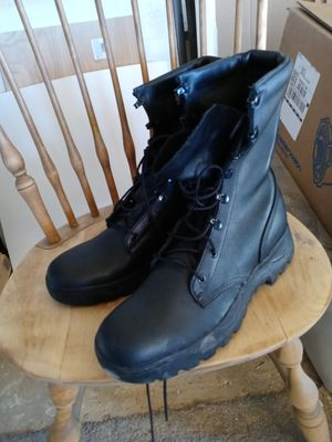Made in U.S.A. size 9 1/2 tactical boots for Sale in Apple Valley, CA