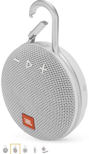 JBL CLIP WHITE Portable Bluetooth/Wireless/Waterproof Speaker for Sale in Gardena, CA