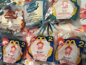 Muppet McDonald toys Vintage- 24 yrs old for Sale in Falls Church, VA