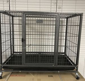 """37"""" Stackable Dog Crate Kennel Venmo Cash App Zelle Apple Pay for Sale in Cathedral City, CA"""