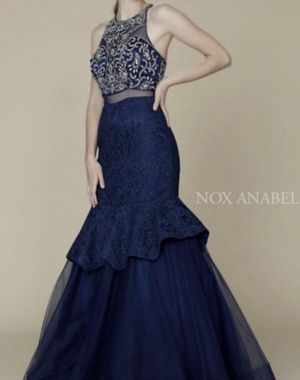 Navy blue Mermaid dress for Sale in Puyallup, WA