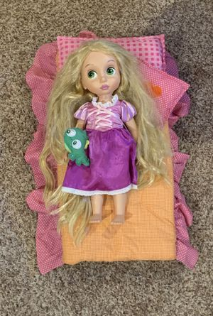 Disney's Rapunzel Doll with Bed Included for Sale in Streamwood, IL