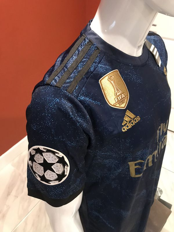 19/20 Real Madrid Away UCL Patch