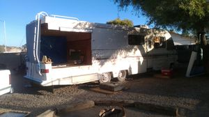 1989 Suncrest motorhome gutted with patio conversion needs finished.. Project runs and drives for Sale in Glendale, AZ