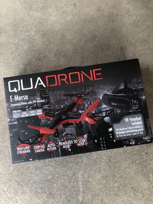 Brand New Drone / VR Headset Quadrone for Sale in Mesquite, TX