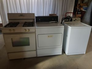 Drier,washer, stove(gas) for Sale in Minneapolis, MN