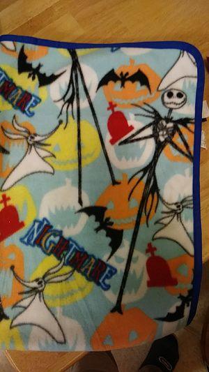 nightmare Before Christmas blanket for Sale in El Paso, TX