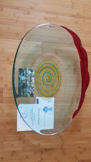 Murano Glass plate for Sale in Alexandria, VA
