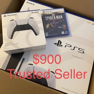 Ps5 Playstation 5 New Bundle Remote/Game for Sale in Miami, FL