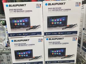 QUALITY BLUETOOTH DOUBLE DIN WITH DVD PLAYER AND USB AND RADIO STATION for Sale in Los Angeles, CA