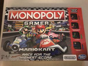 Monopoly Gamer Mario Kart for Sale in Los Angeles, CA