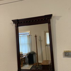Large Wooden Mirror for Sale in Clackamas, OR