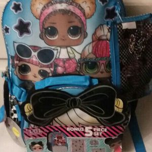 Lol Surprise Glam Squad 5 Piece Backpack Set for Sale in San Diego, CA