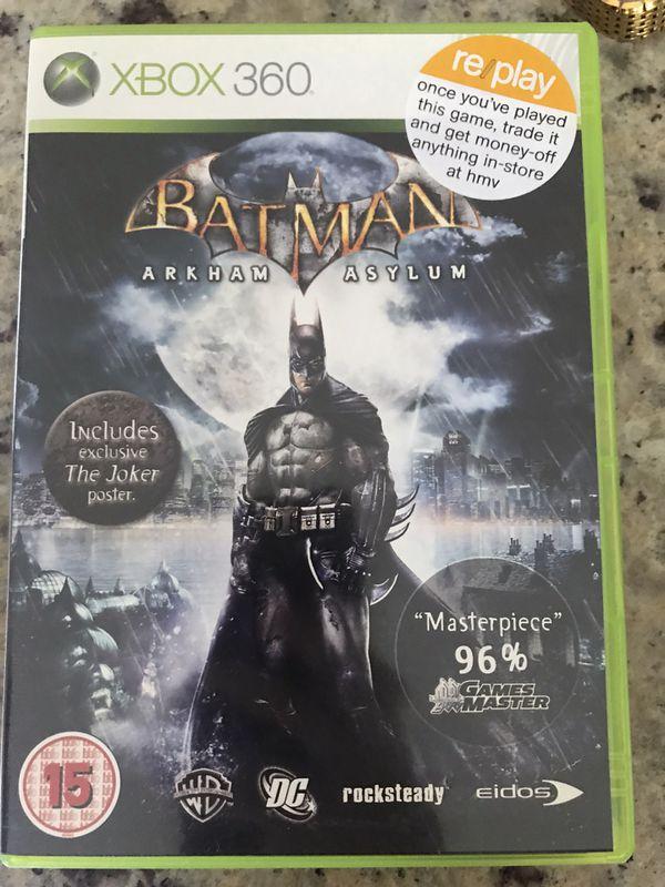 Batman: Arkham Asylum XBOX 360 Action / Adventure (Video Game)