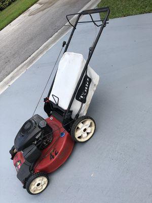 22 in Kohler High Wheel Variable Speed Gas Walk Behind Self Propelled Lawn Mower for Sale in West Palm Beach, FL
