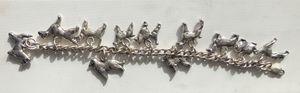 Sterling silver dog bracelet for Sale in San Francisco, CA