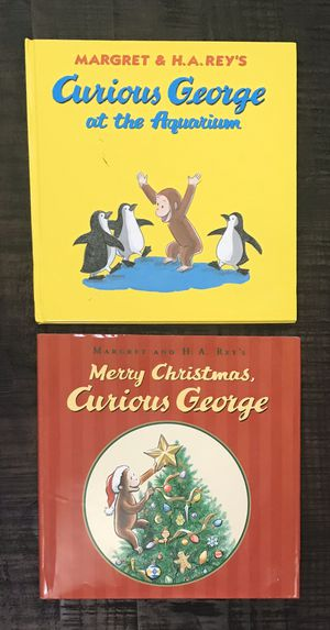 Curious George Books $5 for both for Sale in Port St. Lucie, FL