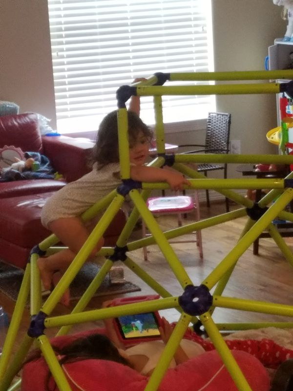 Indoor climbing structure for kids toys games