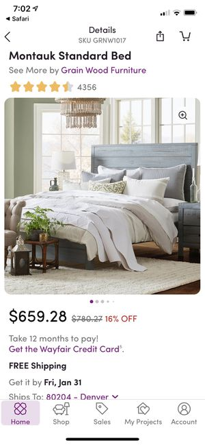 King size bed frame for Sale in San Diego, CA