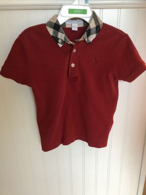Burberry shirt 4Y for Sale in Corinth, TX