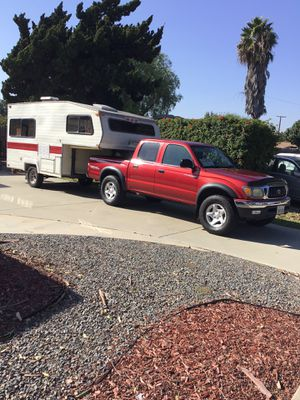 Camper and truck combo for Sale in Anaheim, CA