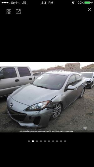 2012 Mazda 3Parts Only for Sale in Phoenix, AZ