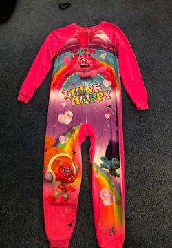 Brand Dreamworks Trolls pajama. Girls size 10/12 for Sale in Fall City,  WA