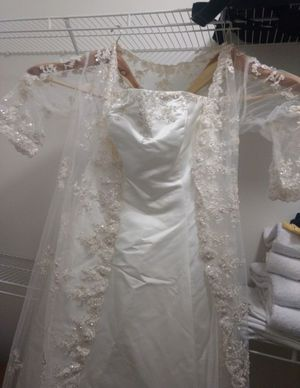 Wedding dress and shoes for Sale in Alexandria, VA