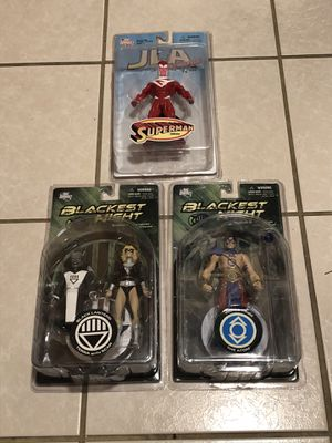 New DC Comics Superman, Blackest Night Action Figures $10 each/$25 for all for Sale in Spring Hill, FL