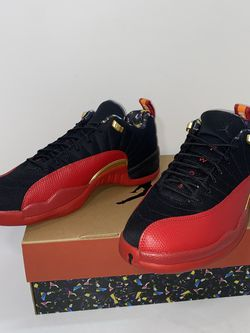 "New! Air Jordan 12 Retro Low ""Super Bowl LV"" Shoe Sizes 11.5 & 10.5 Flu Game for Sale in Woodburn,  OR"
