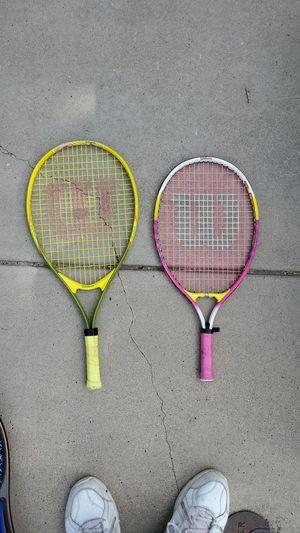 Kids Tennis rackets $5 -$10 for Sale in Littleton, CO
