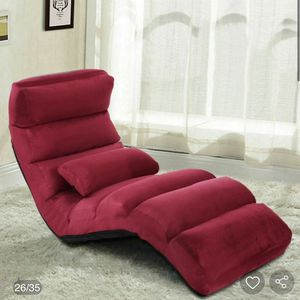 New Folding Lazy Sofa Chair with Massaging Pillow for Sale in Santa Fe Springs, CA