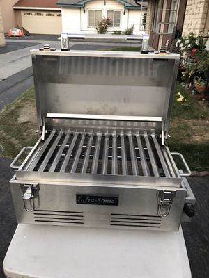 INFRASONIC PORTABLE STAINLESS STEEL INFRARED GRILL NEW for Sale in Westminster, CA