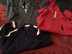 3 Ralph Lauren Polo Jackets XL for Sale in Grand Prairie, TX