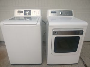 Samsung Electric Washer & Dryer for Sale in Houston, TX