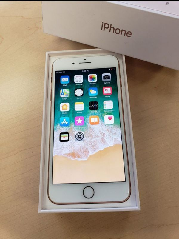 """iPhone 8 plus 256GB FACTORY UNLOCKED"""" Like new with warranty"""