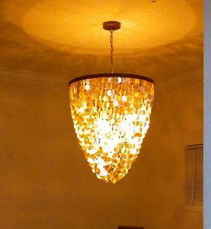 Pottery Barn capiz light for Sale in Heathrow, FL