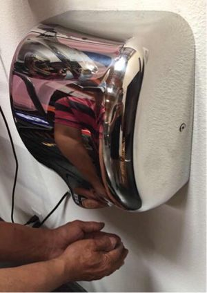 New in box commerical grade restaurant quality chrome automatic hand dryer energy efficient fast drying for Sale in Covina, CA
