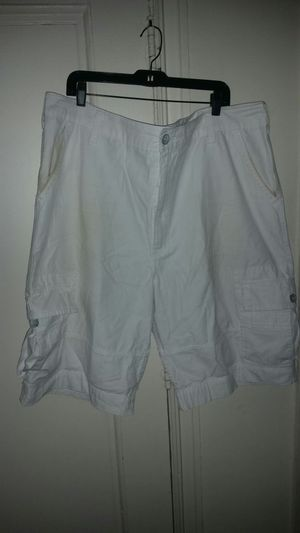 White Levi Cargo Shorts for men for Sale in Washington, DC