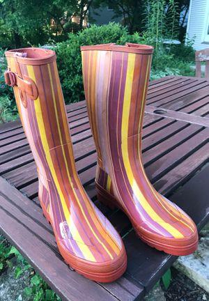 Smith & Hawken rain boots (size 11, they run small) for Sale in Wheaton, IL