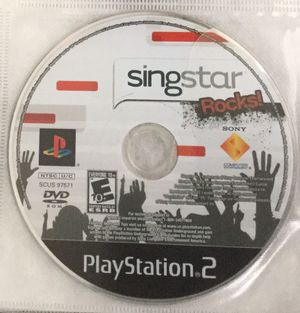Sing star rocks! for ps2 for Sale in Houston, TX