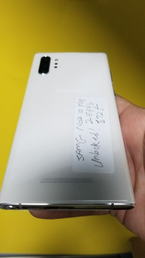 Samsung Galaxy Note10 Plus New 256gb Unlocked Financing available for 54 down no credit needed take home today for Sale in Carrollton, TX