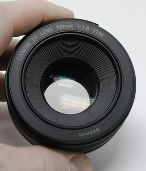 Canon EF 50mm f/1.8 STM Lens. Excellent condition for Sale in Hollywood, FL