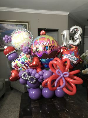 Balloon bouquets available for any occasion for Sale in Montgomery Village, MD