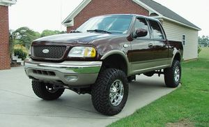 Aluminum Wheels2002 Ford F150 King Ranch for Sale in San Angelo, TX