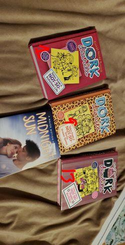dork diaries and midnight sun books for Sale in Clarksburg,  WV