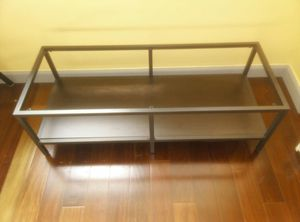 TV Stand or shelf. Glass top missing. for Sale in Philadelphia, PA