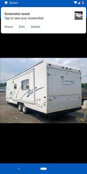2003 jayco kiwi too/trailer home/2 beds/bathroom/kitchen/needs little work!! for Sale in Eddington, PA