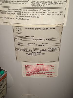 Water heater for Sale in Arlington, TX
